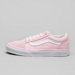 VANS Suede & Canvas Old Skool Girls Shoes